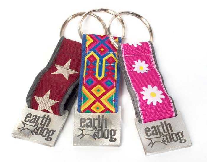 earthdog decorative eco friendly hemp keychains in kody star speck friendship and astrid daisy styles