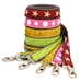 earthdog decorative eco friendly hemp dog leashes in five styles