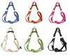 earthdog solid hemp step-in dog harnesses in a variety of colors