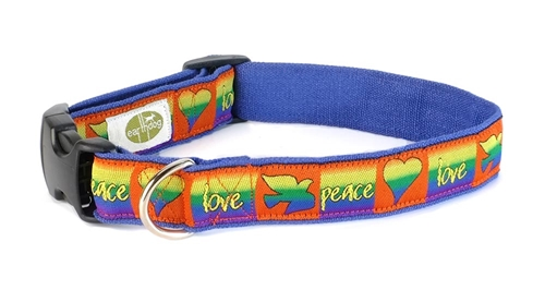 Hemp Adjustable Dog Collars   Decorative Dog Collars